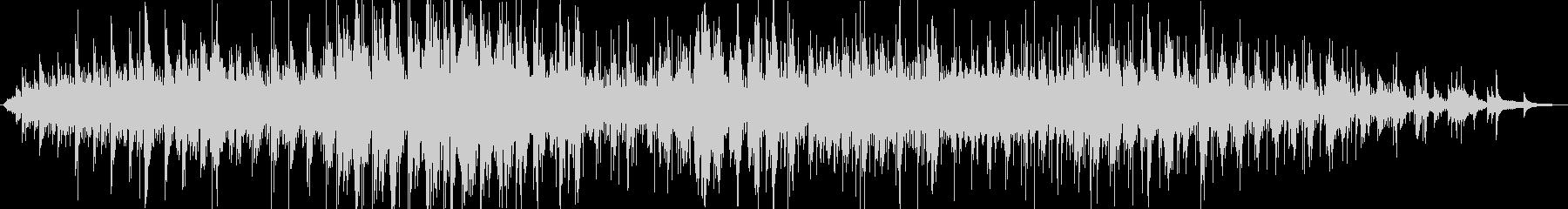 Cold Pianoの未再生の波形