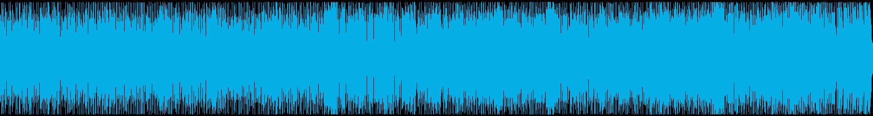 ポップなエスニック戦闘曲(ループ)の再生済みの波形