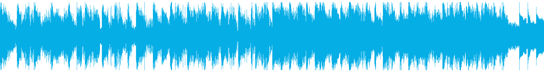 軽快でオシャレなEDM(15秒)の再生済みの波形