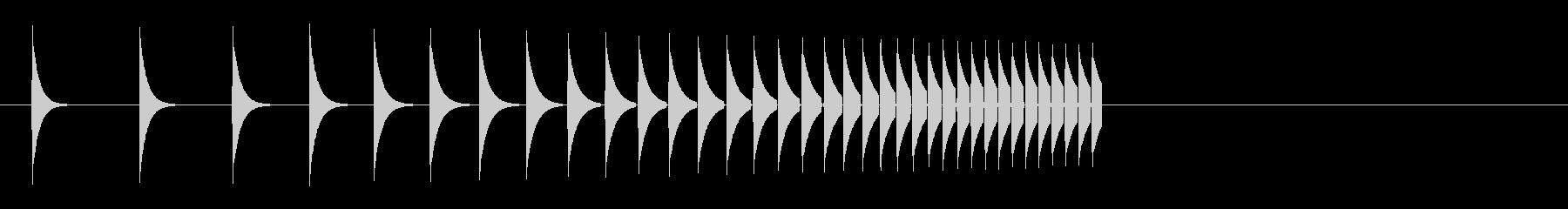 KANTクリックスクロール効果音2082の未再生の波形
