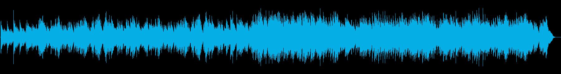 センチメンタルな感じのピアノインストの再生済みの波形