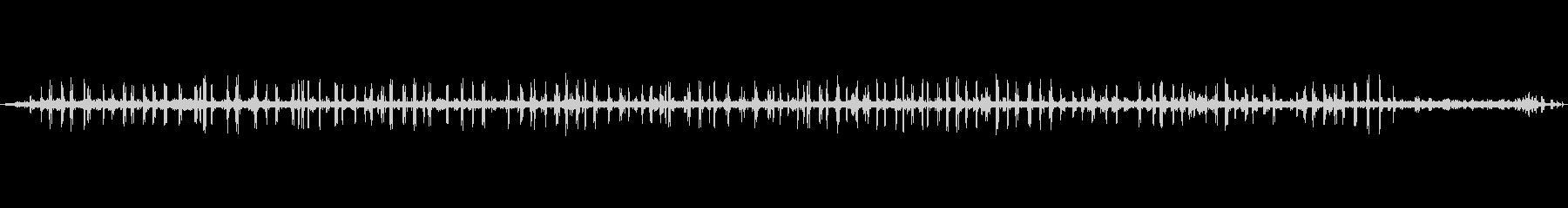 【自然音】栃木山中の鳥の声_2の未再生の波形