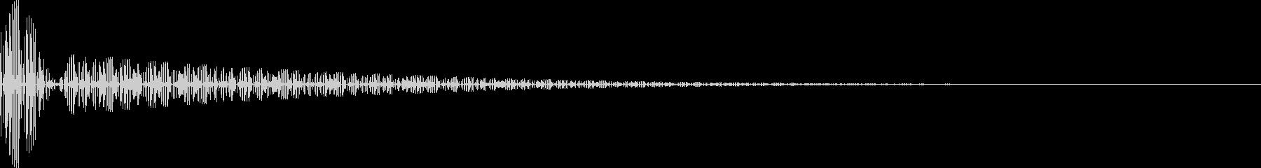 音楽制作に!ドラムマシン風のハイハット音の未再生の波形