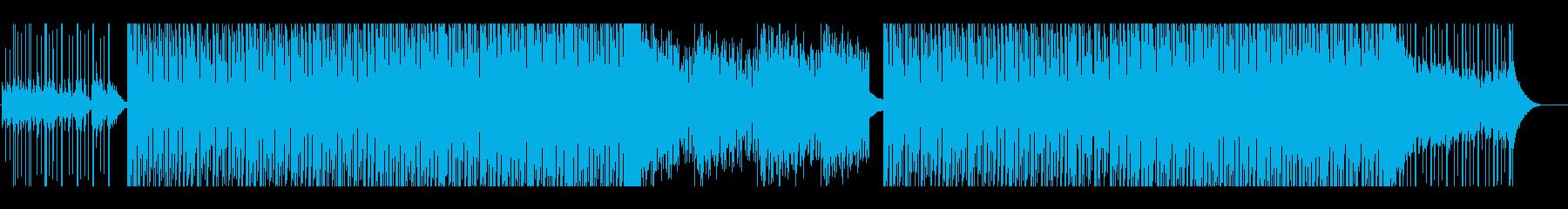 インド感満載曲の再生済みの波形