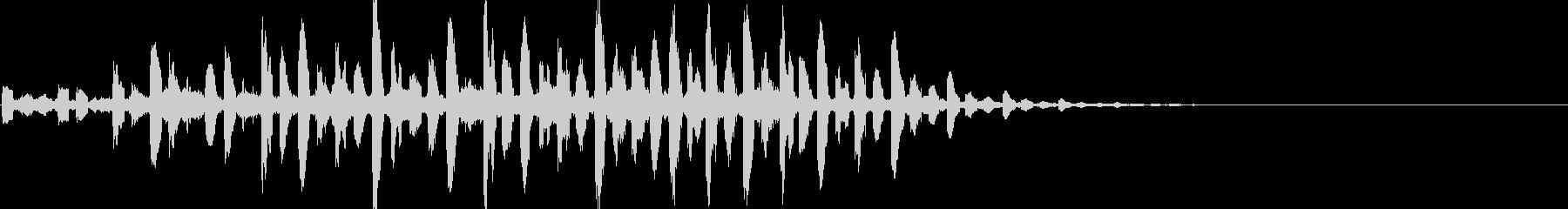 キラキラシンセアンビエント系サウンドロゴの未再生の波形