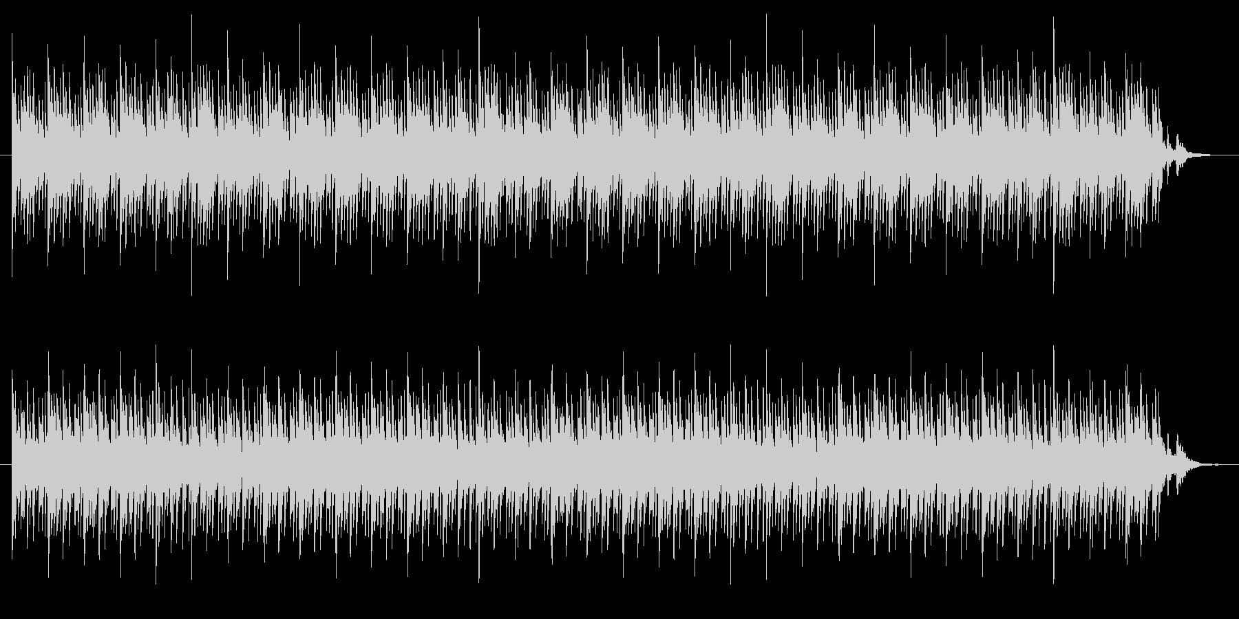 不気味・不穏なBGMの未再生の波形