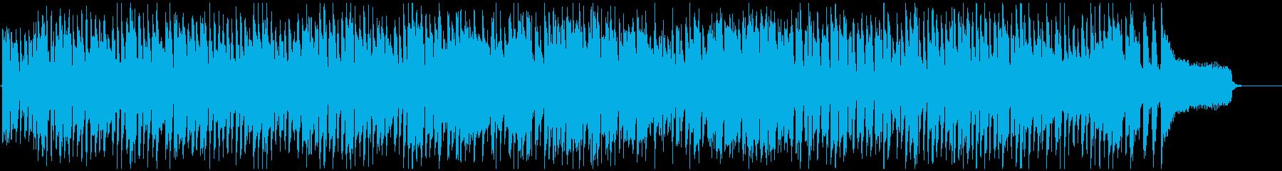 ハッピー嬉しいリコーダーの楽しいポップスの再生済みの波形