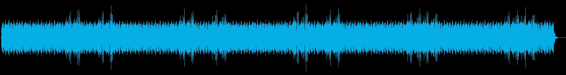 一定のメロディで機械的ミュージックの再生済みの波形