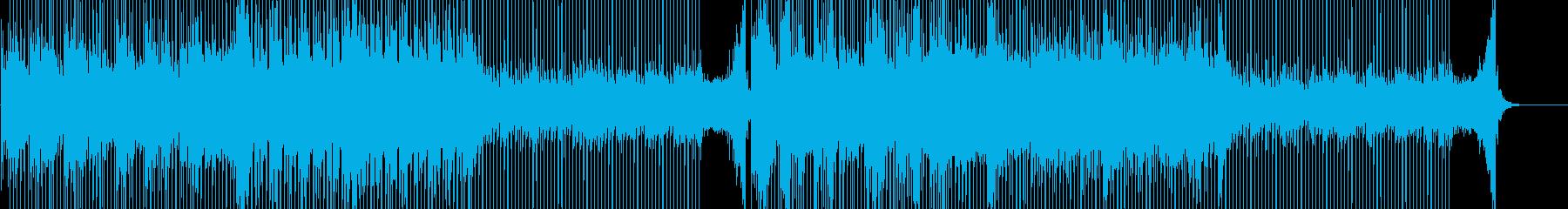 透明感&前向き&感動的なギターポップス曲の再生済みの波形