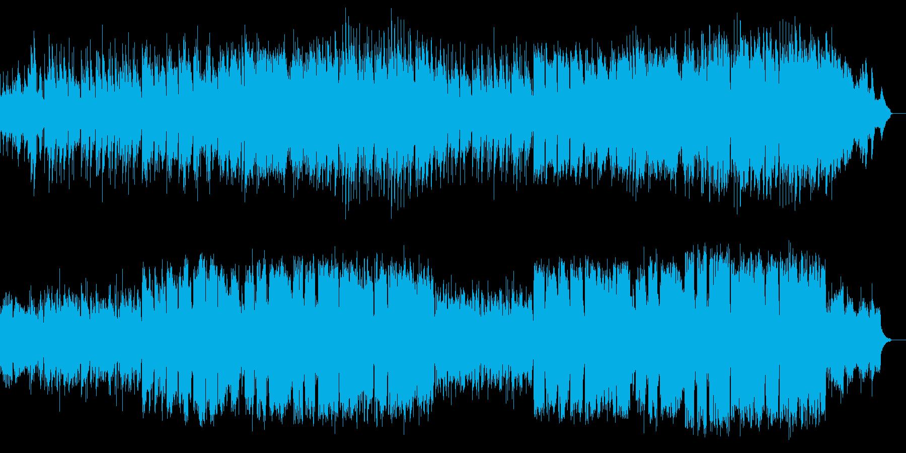 メロディアスでロマンチックなⅩマスソングの再生済みの波形