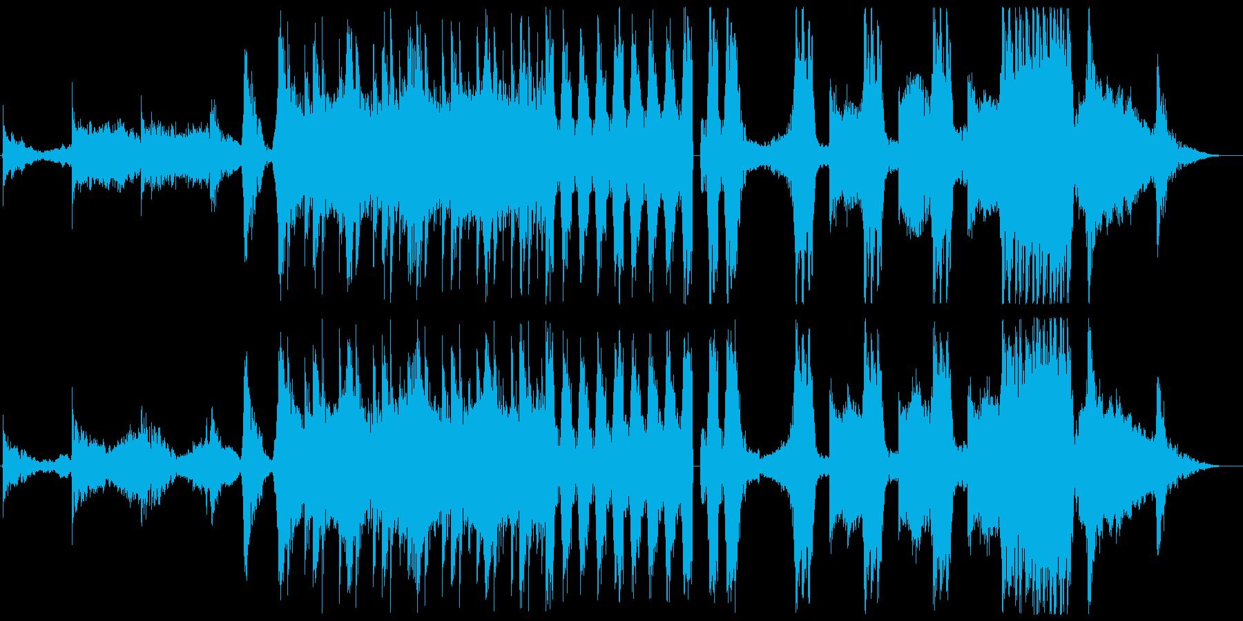 メタル ブレイクビーツ ダブステッ...の再生済みの波形