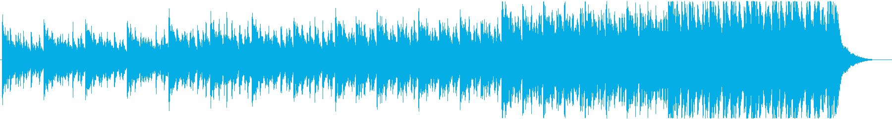 緊迫感のあるシネマティック(テンポ普通)の再生済みの波形
