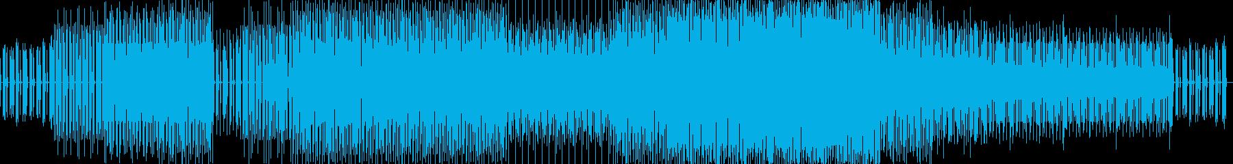 繰り返します。退屈、クレッシェンドの再生済みの波形