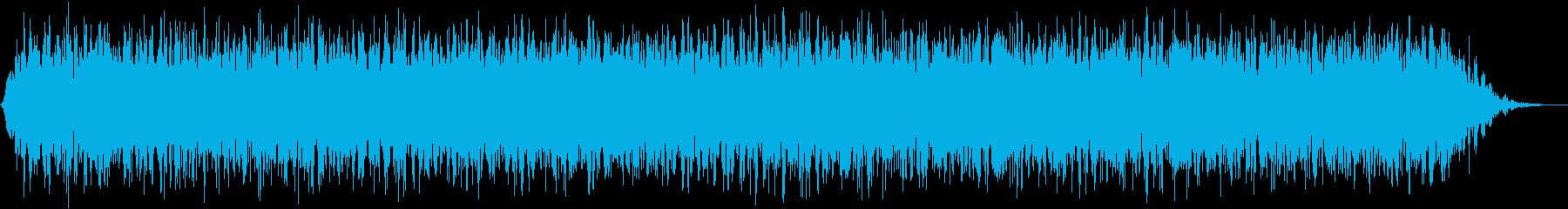 【アンビエント】ドローン_51 実験音の再生済みの波形