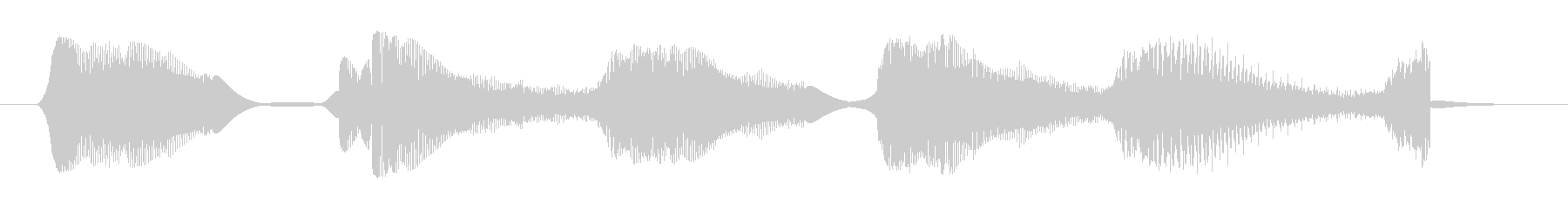 Electrozapperスワイプ2の未再生の波形