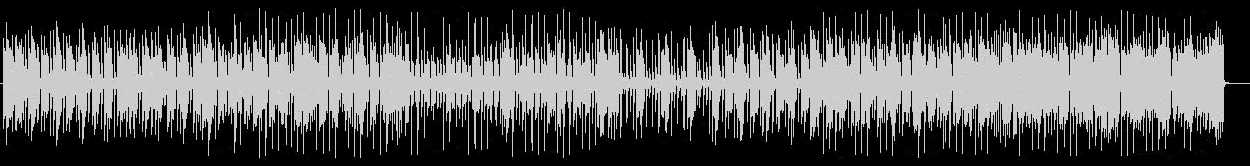 軽快で近代的なロックサウンドの未再生の波形