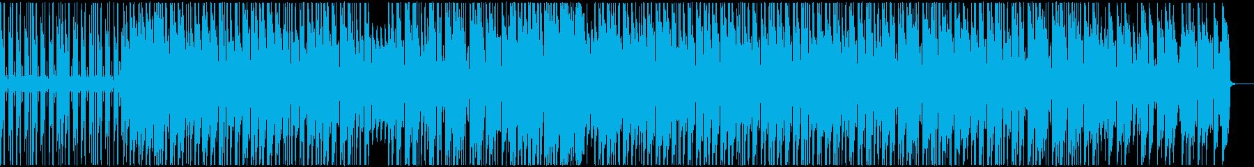 回想シーンで使えそうなHiphopBGMの再生済みの波形