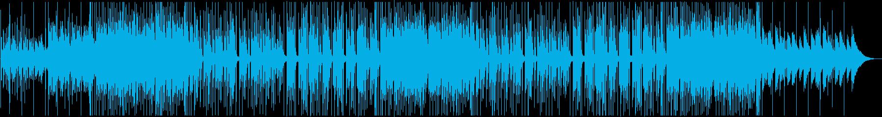 トロピカルハウス風、かわいいダンスポップの再生済みの波形
