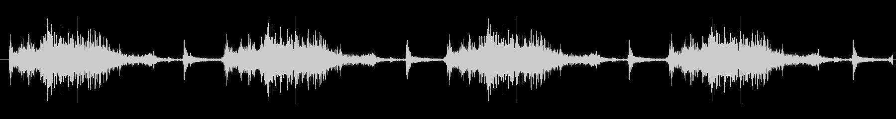 機械 メカニックデンススロー01の未再生の波形