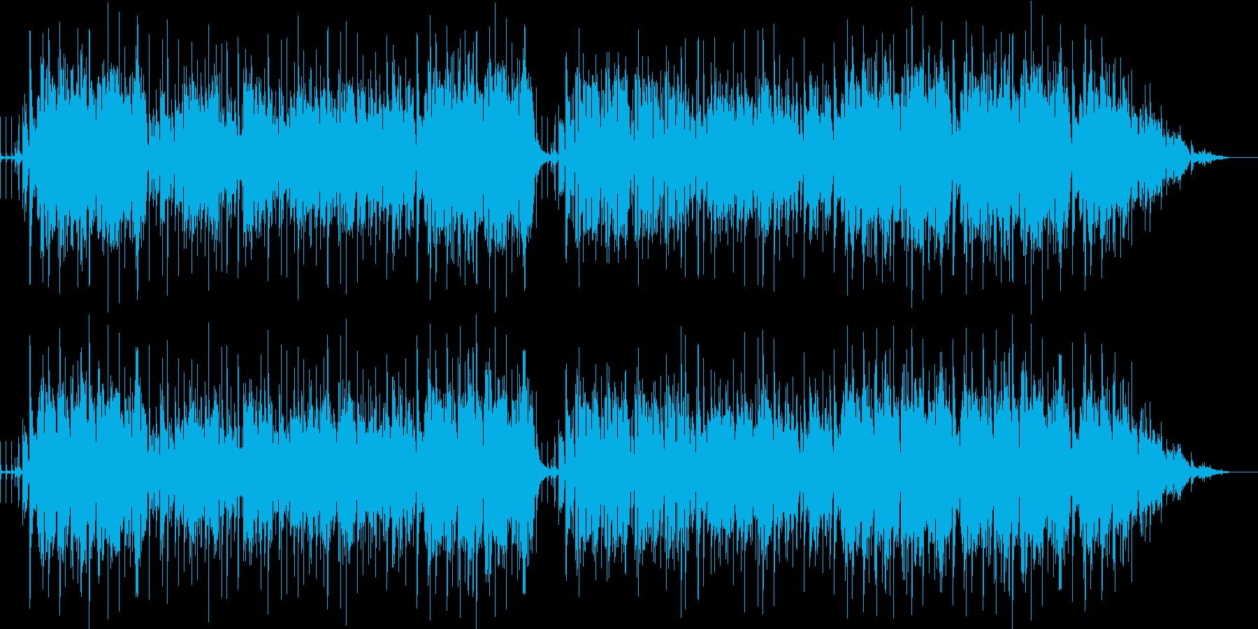 明るく楽しいリズミカルなラテンポップ の再生済みの波形