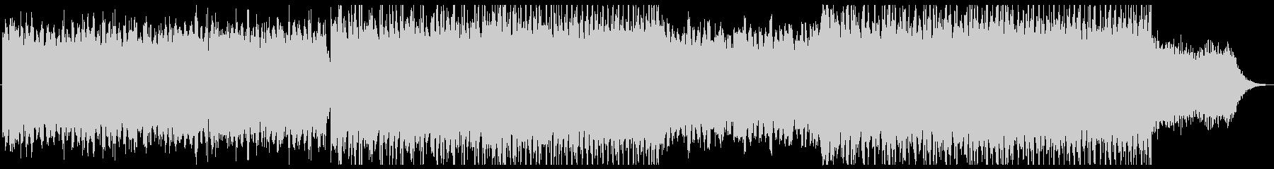 壮大でオリエンタルなシネマティック曲・Kの未再生の波形
