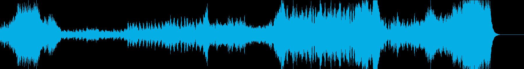 さわやかなオーケストラOP風曲の再生済みの波形