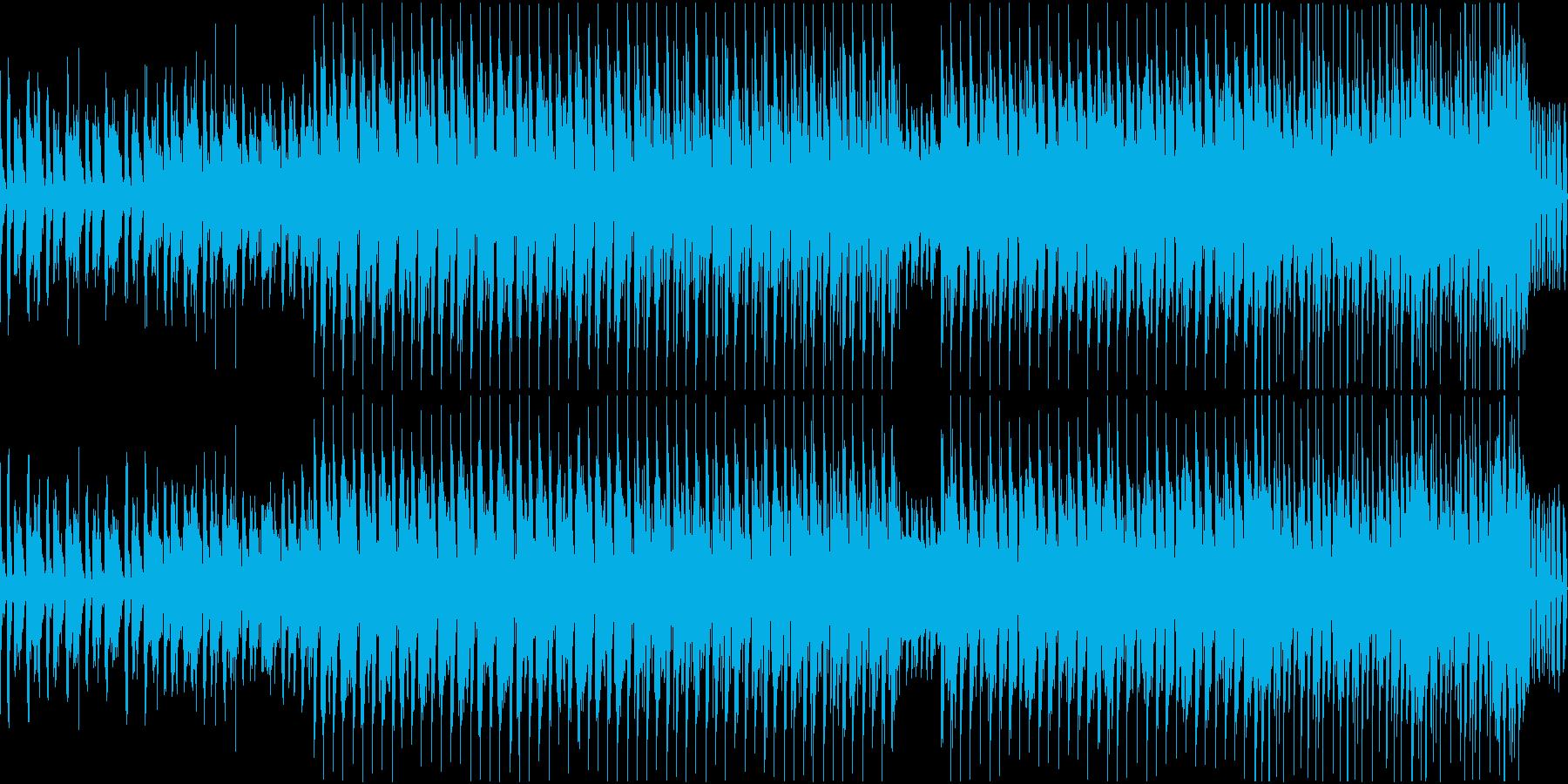 トロピカル EDM メジャー ループの再生済みの波形