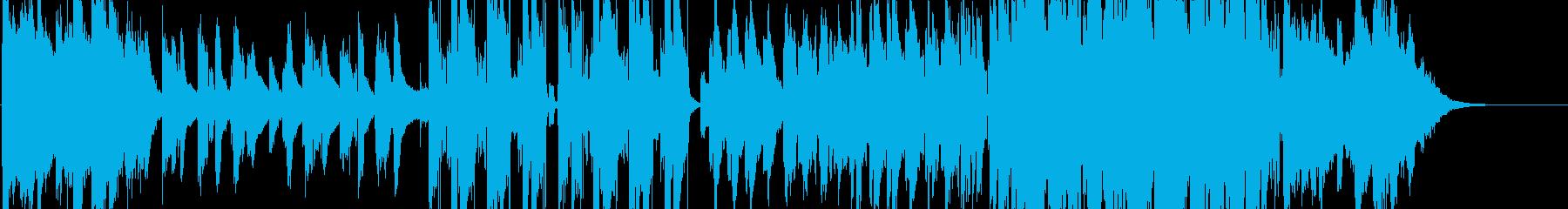 Emotional Western music ballad / R & B's reproduced waveform