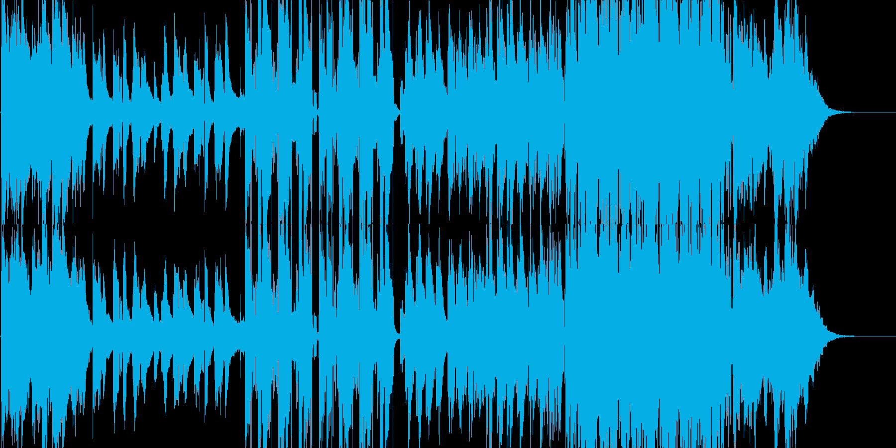 エモーショナルな洋楽バラード/R&Bの再生済みの波形