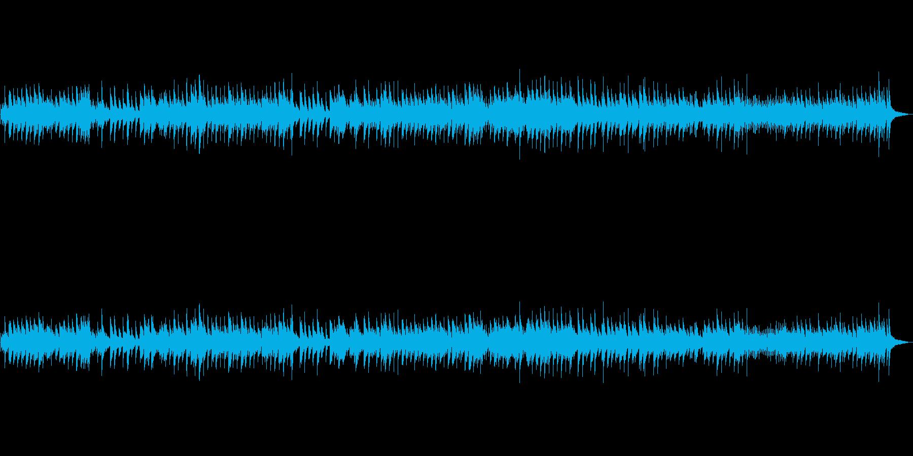 平和、おごそかなハープ演奏 の再生済みの波形