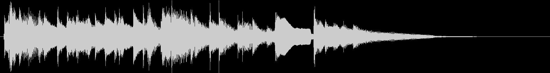 短縮版】泣ける!哀愁感漂うアコギバラードの未再生の波形
