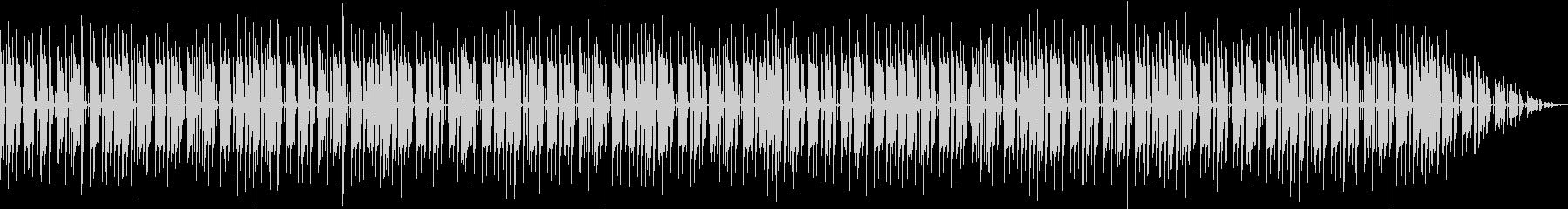 パーカッションとベースのセッションの未再生の波形