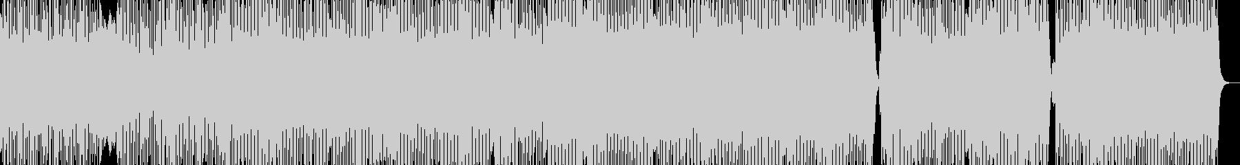 うねるギター変拍子のハードロックインストの未再生の波形