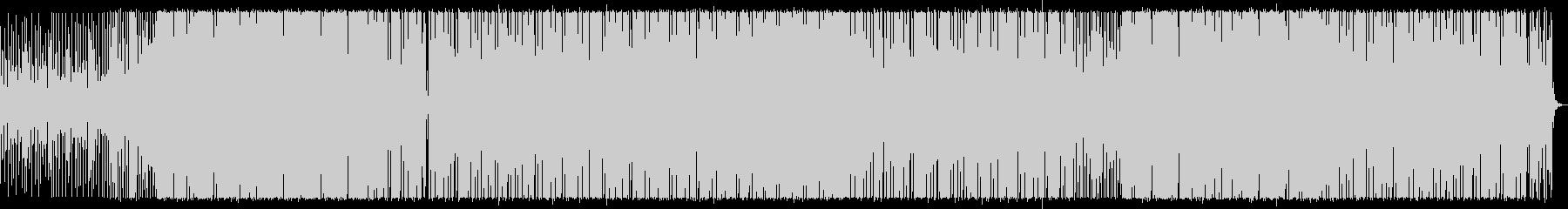 エネルギッシュなポップの未再生の波形
