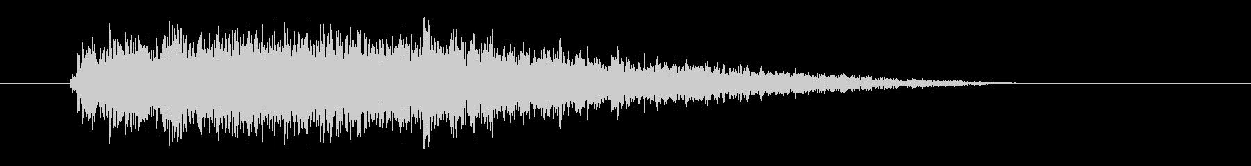レーザー音-75-3の未再生の波形