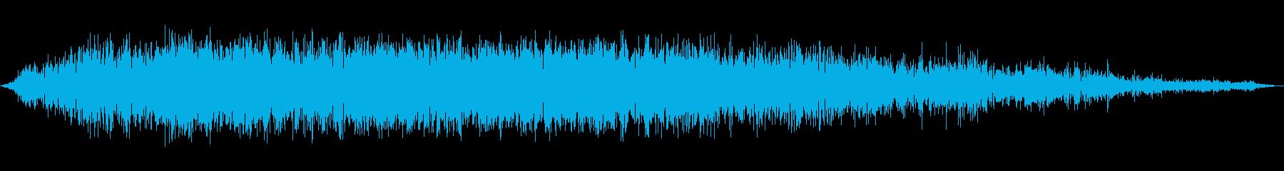 中聴者の笑い;ヴィンテージ録音;笑う群衆の再生済みの波形