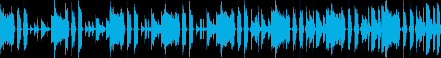 おしゃれなジャズイントロの再生済みの波形