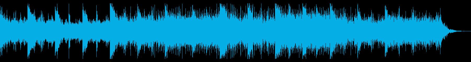 ダークでねじ曲がったテクスチャの再生済みの波形