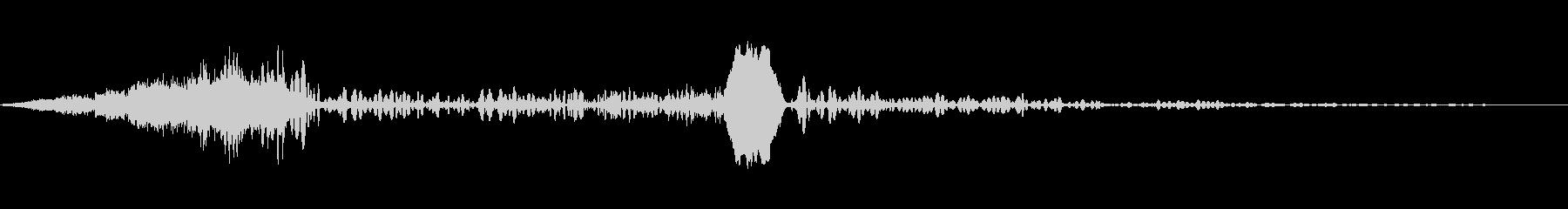 ロシアンルーレット、ライタースタブ...の未再生の波形