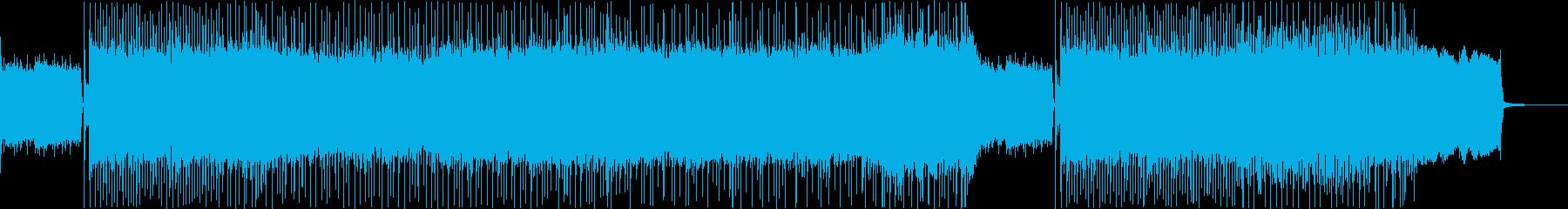 バトルに合うメタルBGMの再生済みの波形