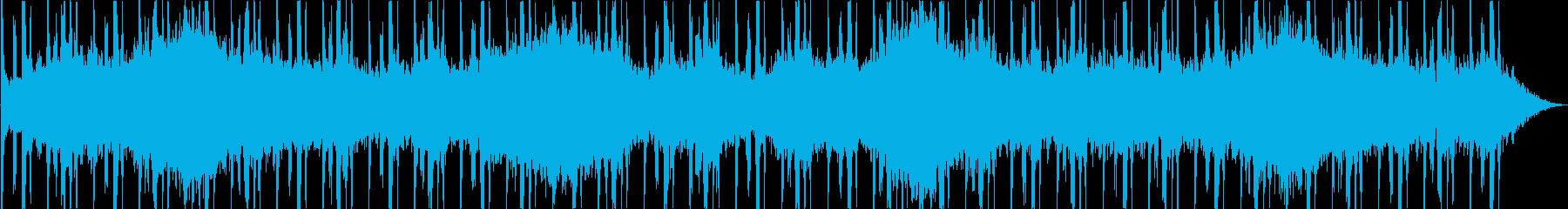 シーケンス 電子グリッチビート01の再生済みの波形
