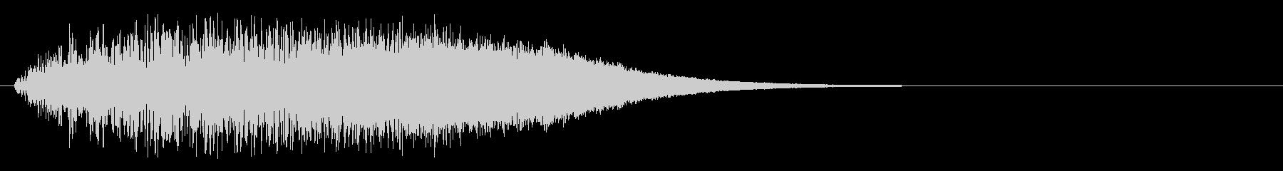 上昇系グリッサンド(キーA)の未再生の波形