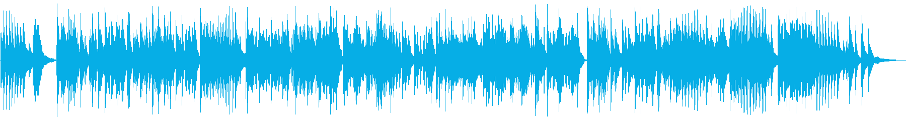 Slow piano I want to hear in the morning's reproduced waveform