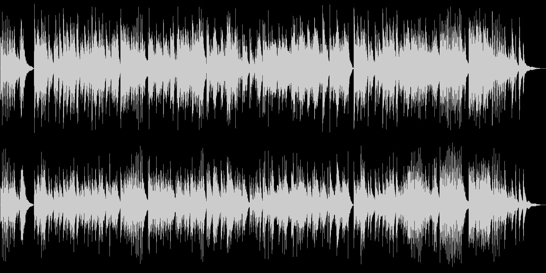 朝方に聞きたいゆっくりなピアノの未再生の波形