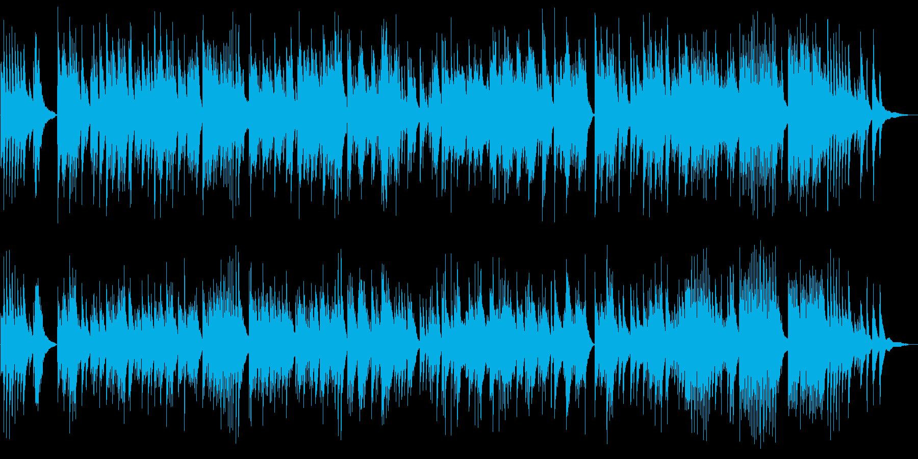 朝方に聞きたいゆっくりなピアノの再生済みの波形