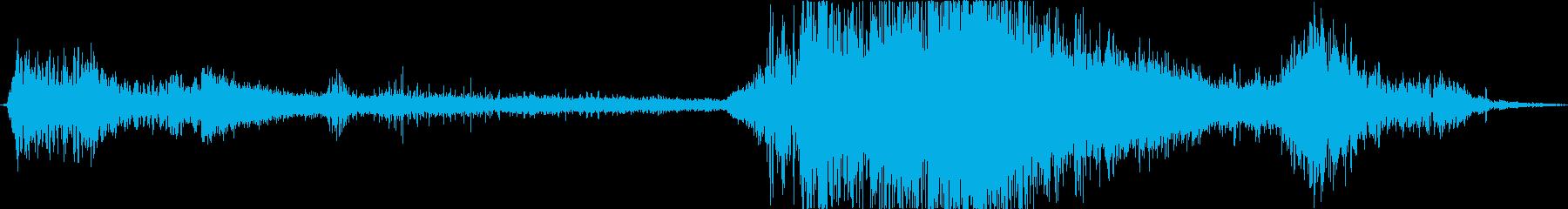 アークブラストと崩壊、宇宙レーザー...の再生済みの波形