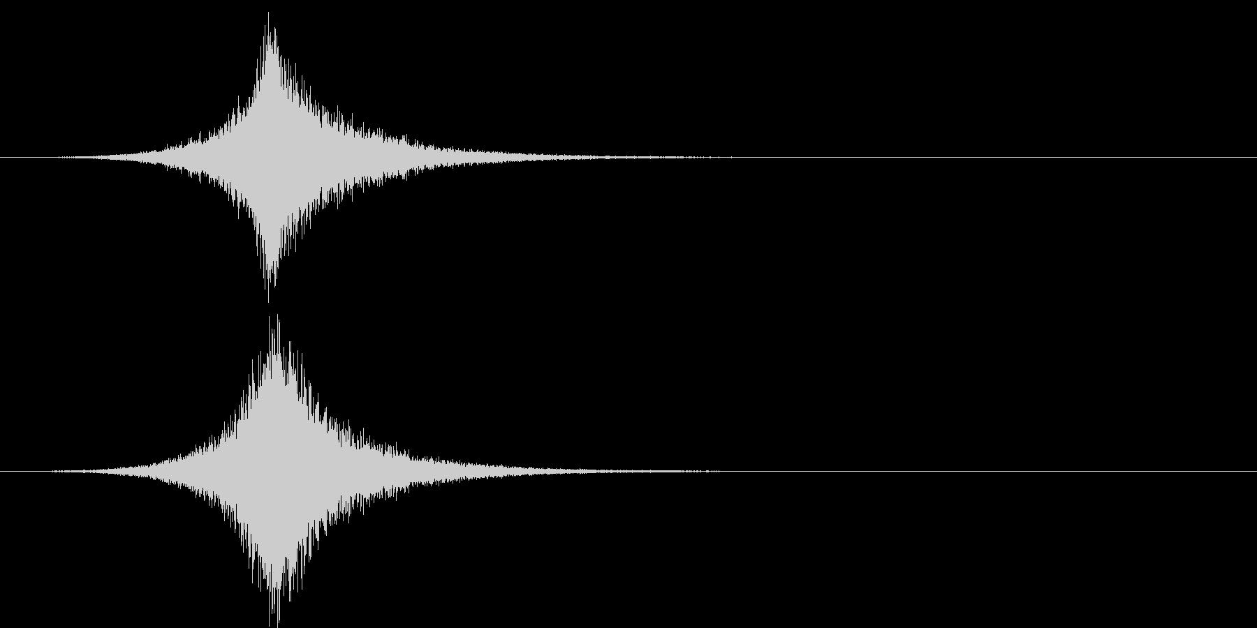 トランジション フライバイ13の未再生の波形
