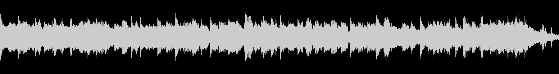 故郷の情景・ループ再生用ショート版の未再生の波形