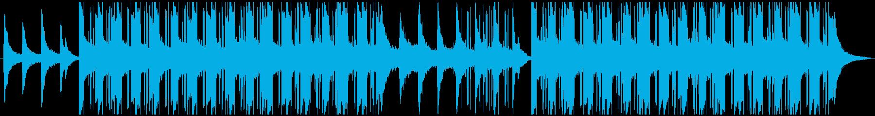 Urban hip hop music's reproduced waveform
