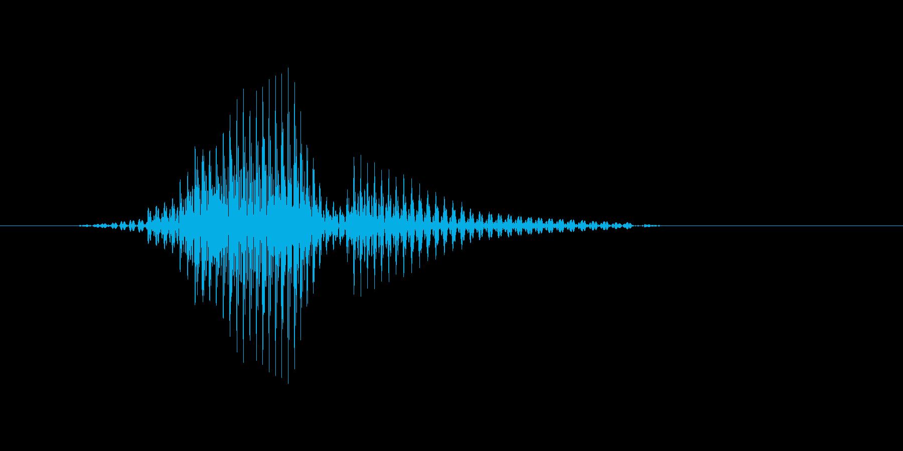 ラリーの再生済みの波形